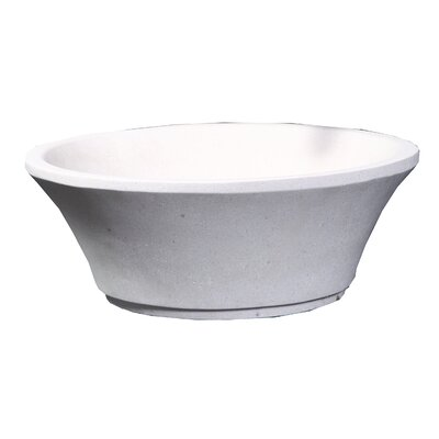Zeus Stone Circular Vessel Bathroom Sink