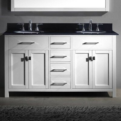 Templeton 60 Bathroom Vanity Base Base Finish: White