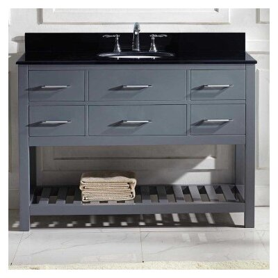 Caroline Estate 48 Bathroom Vanity Cabinet Base Finish: Gray