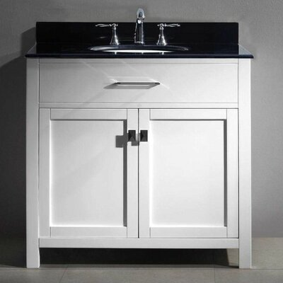 Templeton 36 Bathroom Vanity Cabinet Base Finish: White