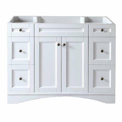 Elise 47 Bathroom Vanity Base Base Finish: White