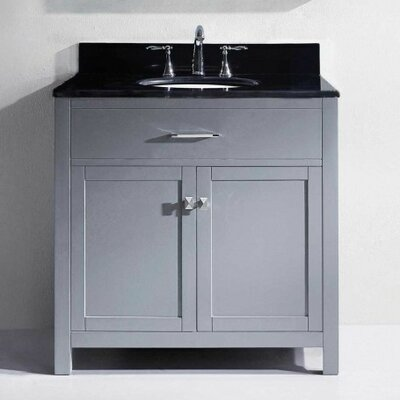 Templeton 36 Bathroom Vanity Cabinet Base Finish: Gray