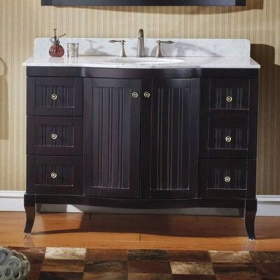 Khaleesi 48 Bathroom Vanity Cabinet Base Finish: Espresso