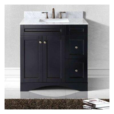 Elise 36 Bathroom Vanity Cabinet Base Finish: Espresso