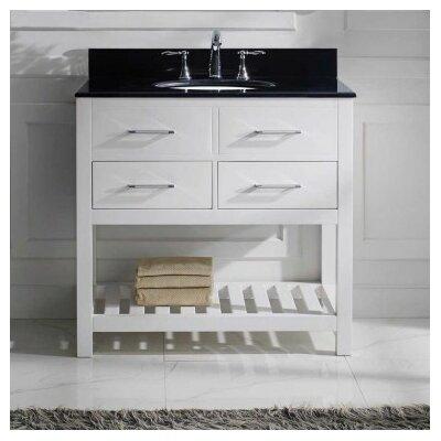 Caroline Estate 36 Bathroom Vanity Cabinet Base Finish: White