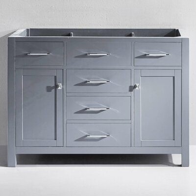 Templeton 48 Bathroom Vanity Base Base Finish: Gray