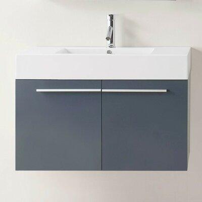 Frausto 36 Single Bathroom Vanity Set Base Finish: Gray