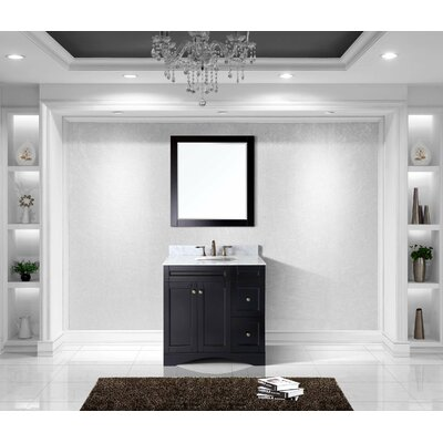 Bob Modern 36 Single Bathroom Vanity Set with Mirror