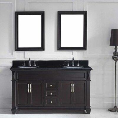 Victoria 60 Double Bathroom Vanity Set with Mirror