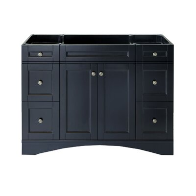 Elise 47 Bathroom Vanity Base Base Finish: Espresso