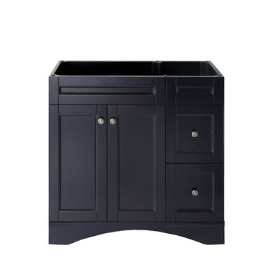 Elise 36 Bathroom Vanity Cabinet Base Finish: Espresso