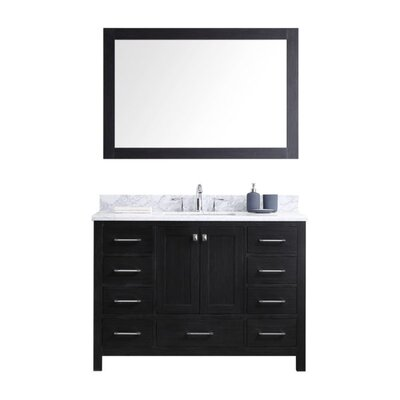 Caroline Premium 48 Single Bathroom Vanity Set with Mirror