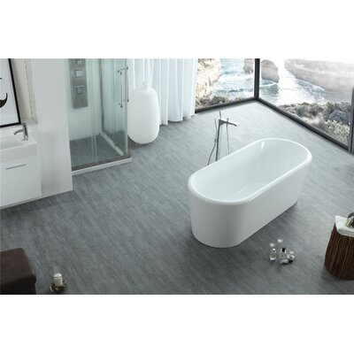 Serenity 67 x 28  Soaking Bathtub