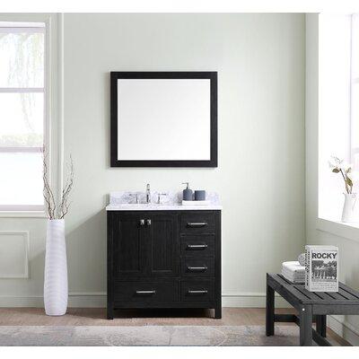 Caroline Premium 36 Single Bathroom Vanity Set with Mirror