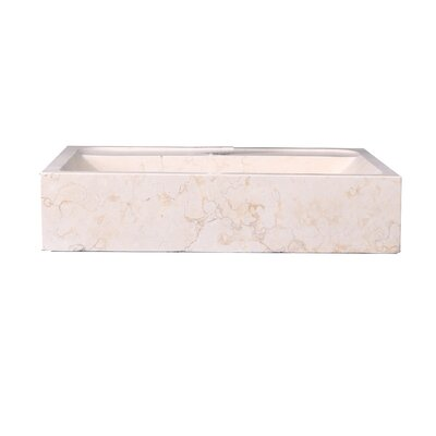 Pandora Rectangular Vessel Bathroom Sink