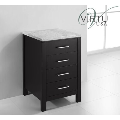"virtu Caroline Parkway 20"" Vanity Side Cabinet - Finish: Espresso at Sears.com"