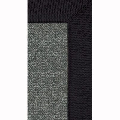 Athena Hand-Tufted Charcoal/ Black Are Rug Rug Size: Rectangle 110 x 210