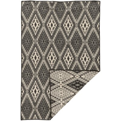 Brooking Traditional Hand-Woven Wool Gray Area Rug