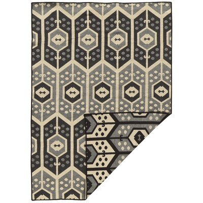 Brooking Traditional Hand-Woven Gray Area Rug