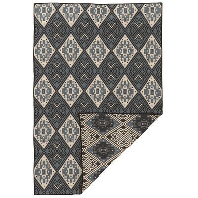 Brooking Hand-Woven Wool Gray Area Rug