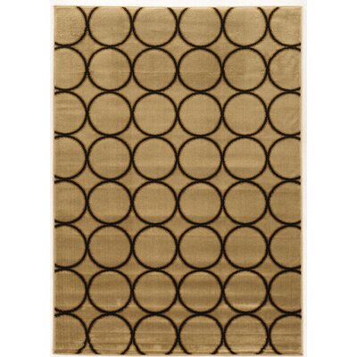 Alica Multi Brown Area Rug Rug Size: 5 x 73