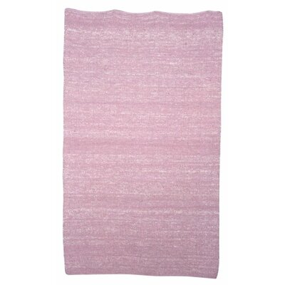 Flip Flop Berber Orchard Pink Kids Rug Rug Size: Rectangle 53 x 76