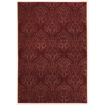 Prisma Chloe Red Rug Rug Size: Rectangle 8 x 10