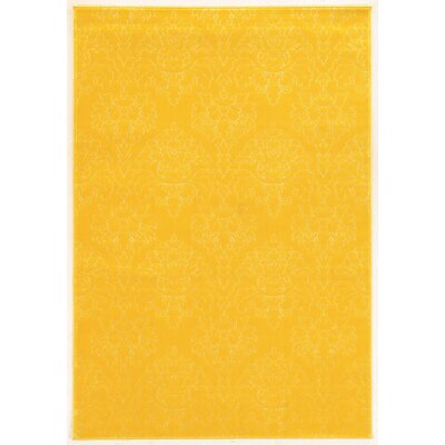 Prisma Chloe Yellow Rug Rug Size: Rectangle 2 x 3