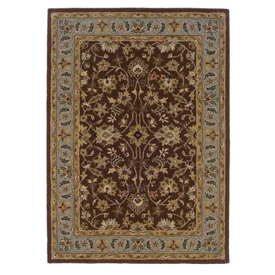 Beyers Hand-Tufted Brown Area Rug Rug Size: Rectangle 5 x 7