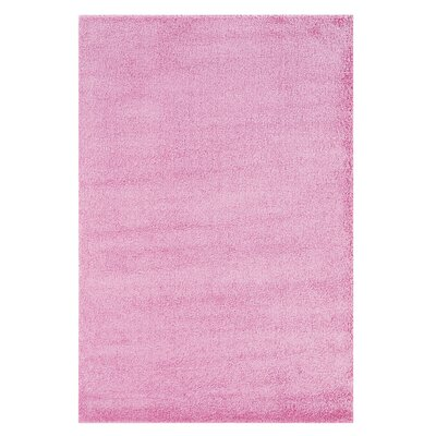 Andros Pink Rug Rug Size: 5 x 76