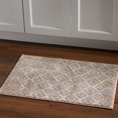 Jewell Tan Area Rug Rug Size: Rectangle 2 x 3
