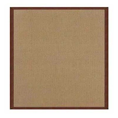 Athena Cork/Brown Area Rug Rug Size: 5 x 8