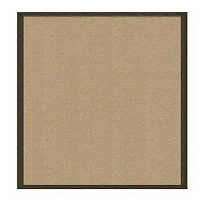 Athena Hand-Tufted Sisal/Dark Green Area Rug Rug Size: Rectangle 5 x 8