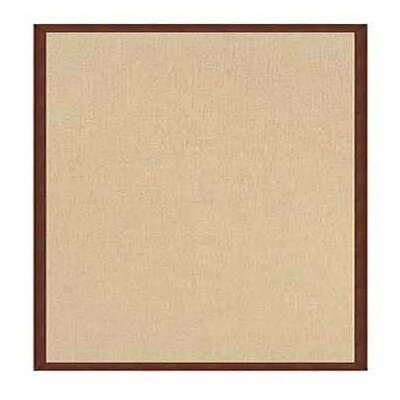 Athena Hand-Tufted Natural/Brown Area Rug Rug Size: Rectangle 5 x 8
