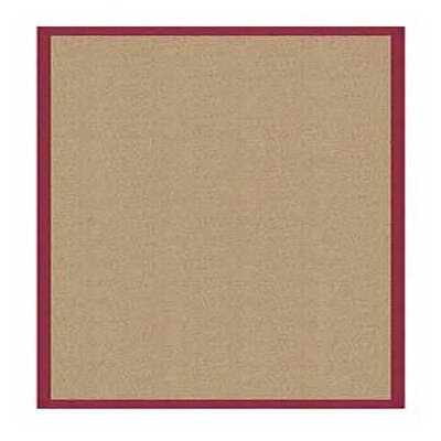 Athena Sisal / Red Contemporary Rug
