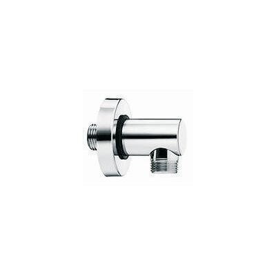 Brass Wall Union for Hand Shower Finish: Chrome