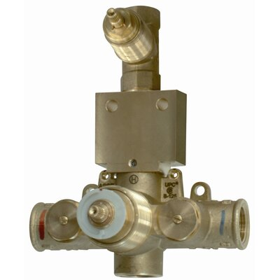 Thermostatic Rough in with 1 Volume Control Valve