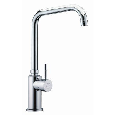 One Handle Single Hole Kitchen Sink Faucet Finish: Chrome