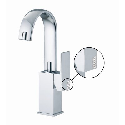 Brick Chic Single Hole Bathroom Sink Faucet with Single Handle Finish: Chrome