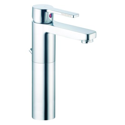 Matrix Single Hole Bathroom Sink Faucet with Single Handle Finish: Chrome
