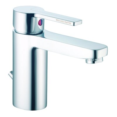 Matrix Single Hole Bathroom Sink Faucet with Single Handle Finish: Chrome, Optional Accessory: Without Swivel Spout