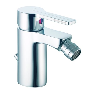 Matrix Single Handle Horizontal Spray Bidet Faucet Finish: Chrome