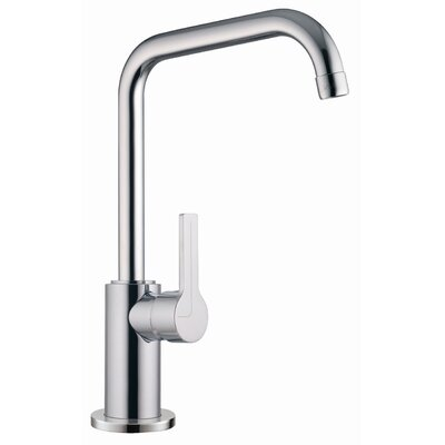 One Handle Single Hole Kitchen Sink Faucet Finish: Brushed Nickel