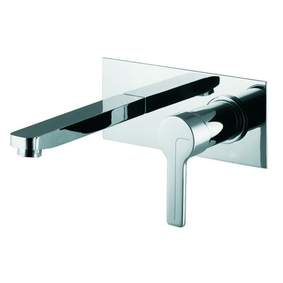 Matrix Wall Mounted Bathroom Sink Faucet with Single Handle Finish: Brushed Nickel