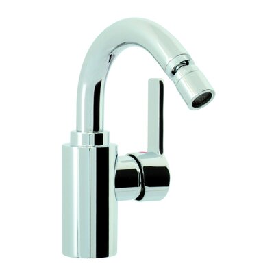 Matrix Single Handle Horizontal Spray Bidet Faucet with Swivel Spout Finish: Chrome
