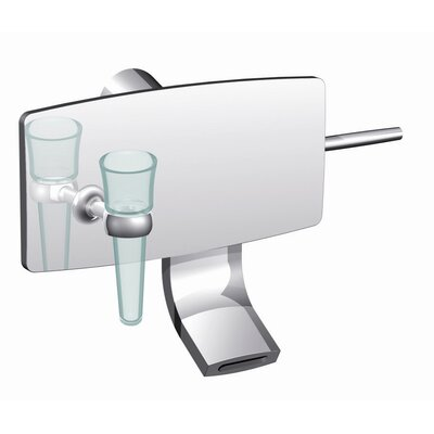 De Soto Wall Mounted Bathroom Sink Faucet with Single Handle