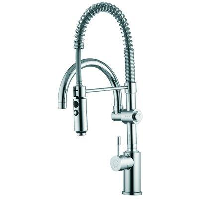 One Handle Single Hole Bar Faucet Finish: Chrome