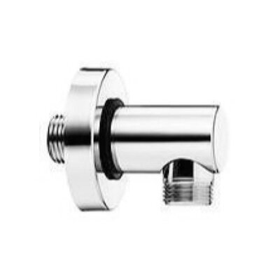 Brass Wall Union for Hand Shower Finish: Brushed Nickel
