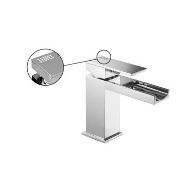 Brick Chic Single Hole Bathroom Sink Faucet with Single Handle Finish: Chrome