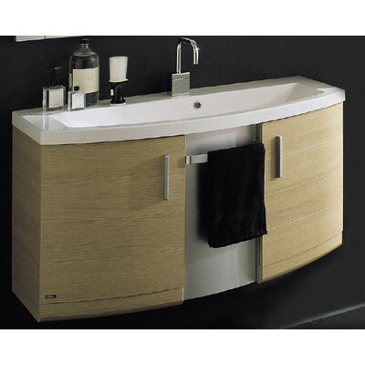Dune 41 Bathroom Vanity Base Base Finish: Glossy White